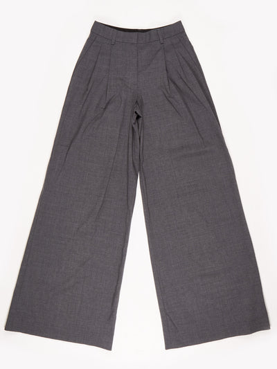 DKNY High Waist Trousers / Grey / Size 2
