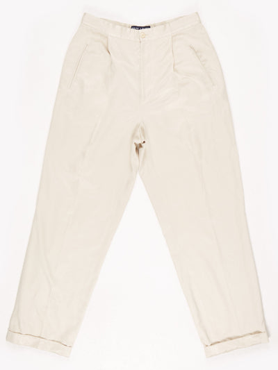 Ralph Lauren Trousers / Cream / Size 12