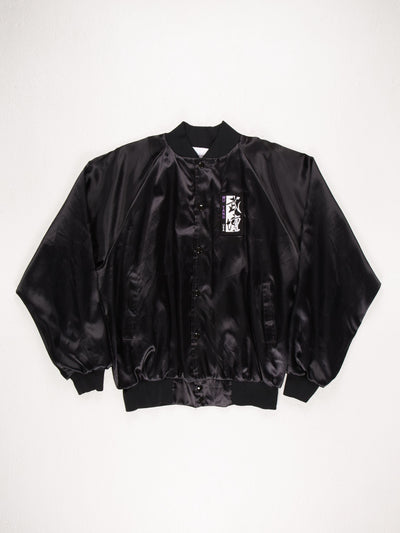 Wu Tang Clan USA Bomber Jacket / Black / Size XL