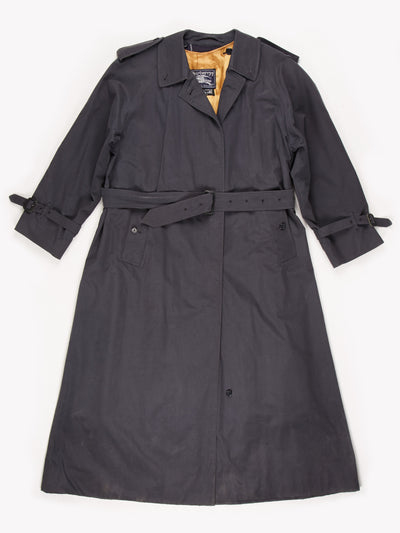 Burberry Trench Coat / Grey / Size Small