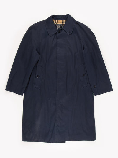 Burberry Trench Coat / Blue / Size XXL