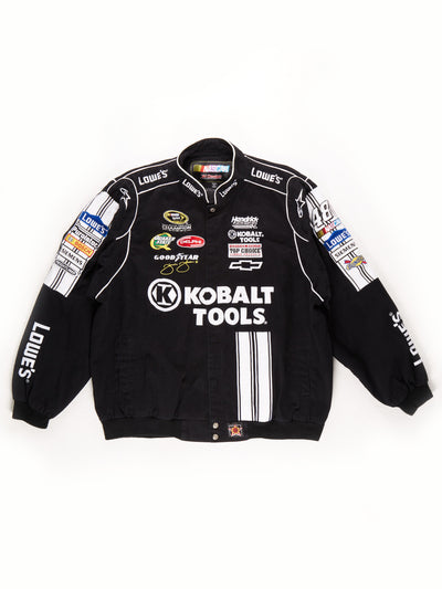Nascar 'Kolbat Tools' Racing Jacket / Black / White