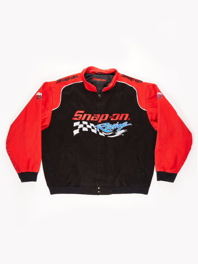 Snap On Racing Jacket / Black / Red / Size XL