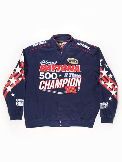 Nascar 'Daytona Champion 88' Racing Jacket / Navy / Red / White