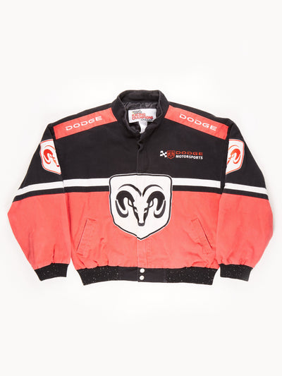 Nascar 'Dodge Motorsport' Racing Jacket / Red / Black / White / Size XL
