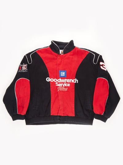 Winner's Circle Goodwrench Service Plus Racing Jacket / Black / Red / Size XL