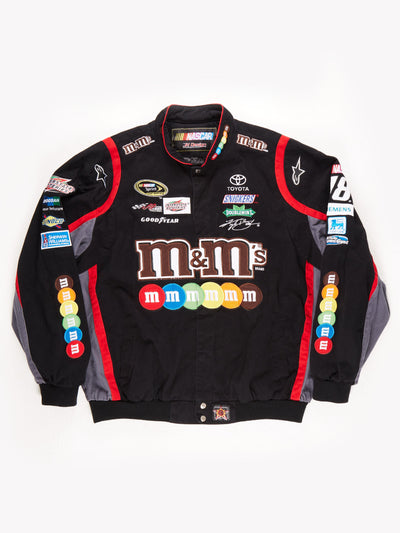 Nascar 'M&M' Racing Jacket / Black / Red / Grey