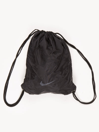 Nike Drawstring Sports Bag Black Size Medium