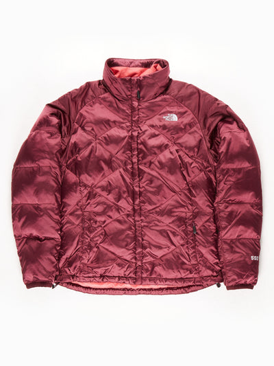 The North Face 550 Quilted Metallic Coat / Purple / Large