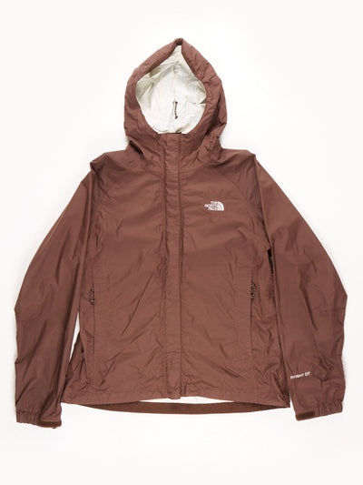 The North Face HyVent DT Waterproof Jacket With Hood / Brown / Medium