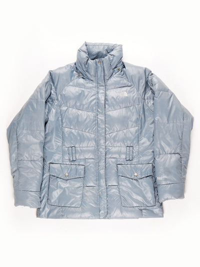 The North Face 550 Quilted Coat / Grey / Large