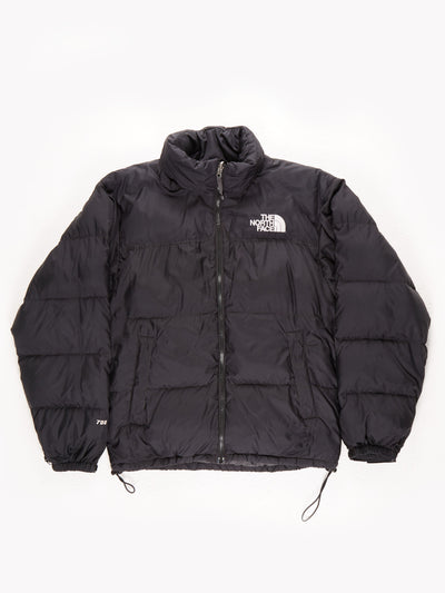 The North Face 700 Puffer Coat With Fold Away Hood / Black / Small