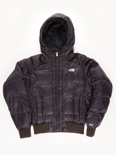 The North Face 550 Puffer With Hood / Black / Medium