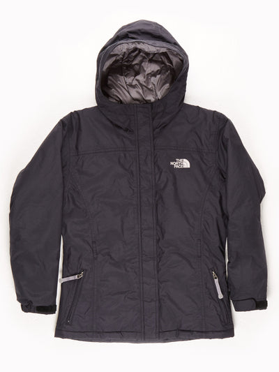 The North Face Waterproof Padded Jacket With Hood / Black / Medium