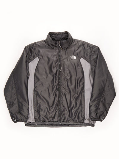 The North Face Padded Jacket / Grey / Black / XXL