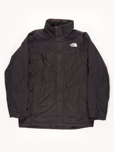 The North Face Waterproof Coat With Hood / Black / Medium