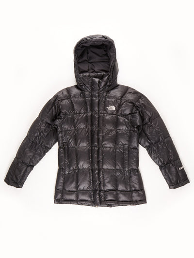 The North Face Quillted Jacket With Hood / Black / XS