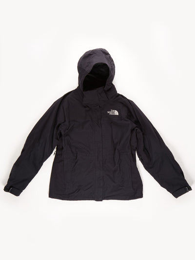 The North Face HyVent Waterproof Hooded Coat / Black / Medium