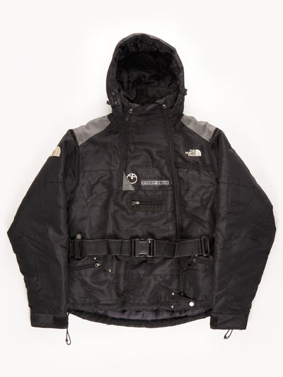 The North Face 550 Steep Tech Belted Coat / Black / Large