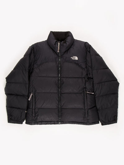 The North Face Puffer Jacket Black Size Womens Large