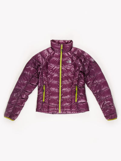 The North Face Puffer Jacket Purple/Green Size Womens XS