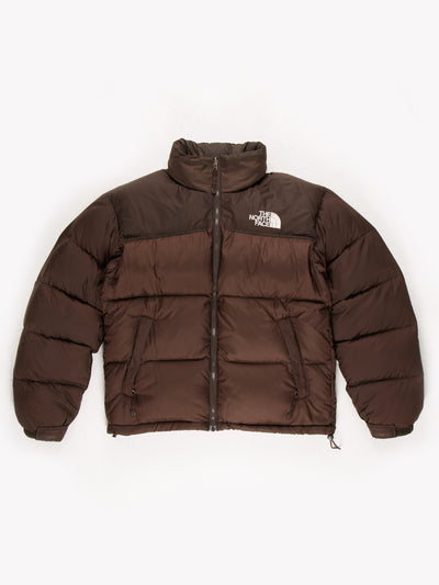 The North Face Puffer Jacket Brown Size Medium