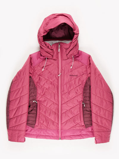 Patagonia Womens Puffer Jacket Pink/Purple Size Small