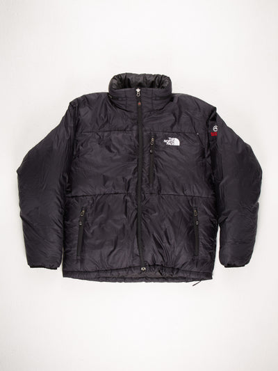 The North Face Puffer Jacket Black Size Mens Large