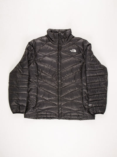 The North Face Womens 550 Puffer Jacket Black Size Large
