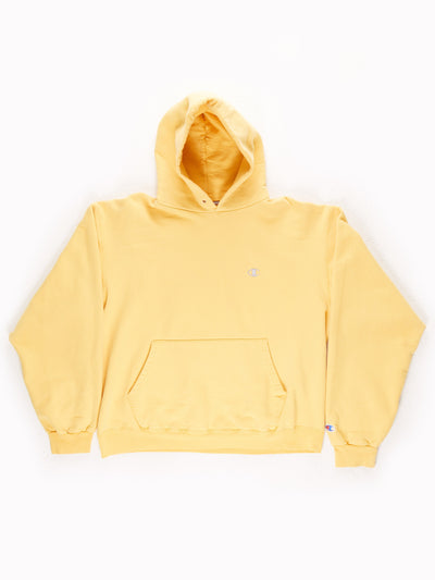 Champion Hoodie / Yellow / Silver XXL