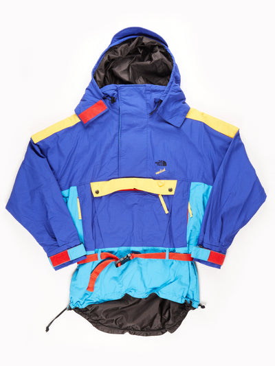 The North Face Overhead Jacket / blue / yellow /red / Size M