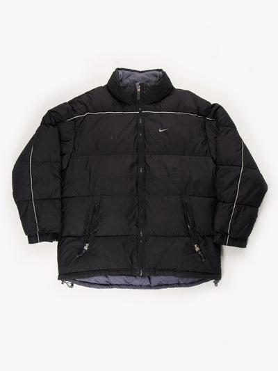 Nike Puffer Coat Black Size Large