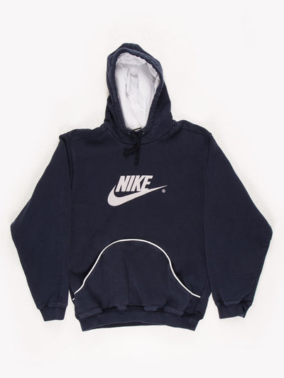 Nike Spell Out Sweatshirt Navy/White Size Small