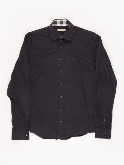 Burberry Brit Button Up Shirt Navy Size Small