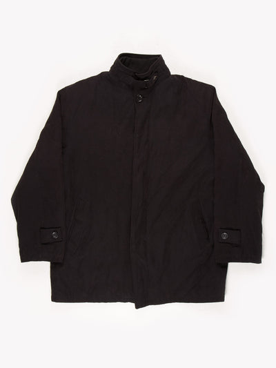 Burberry Suede Jacket Black Size XL
