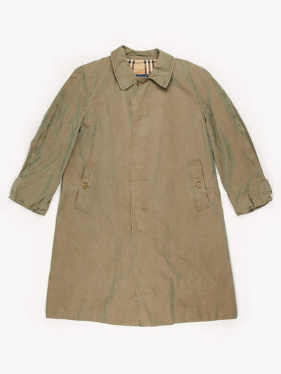 Burberry Trench Coat Green Size XL