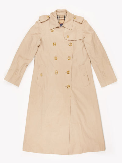 Burberry Trench Coat Beige Size UK6