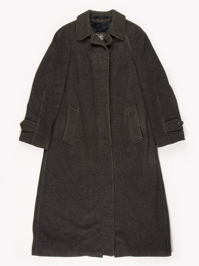 Burberry Duster Coat Grey Size UK6