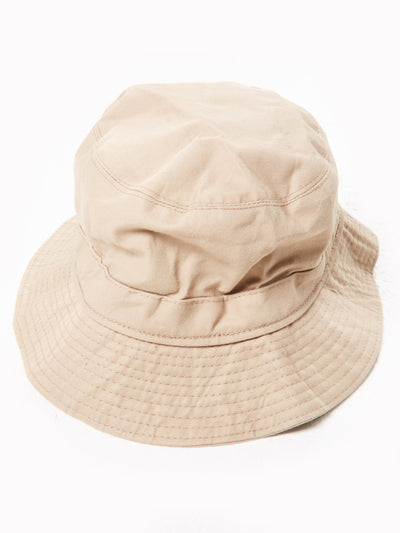 Burberry Bucket Hat Beige Size Small