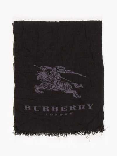 Burberry Scarf Black / Grey