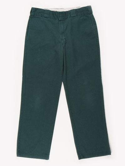 Dickies 874 Original Fit Trousers Green Size 32x27