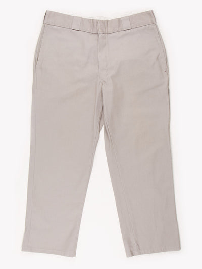 Dickies 874 Original Fit Trousers Grey Size 34x25