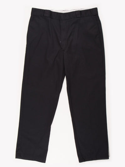 Dickies 874 Original Fit Trousers Black Size 39x32