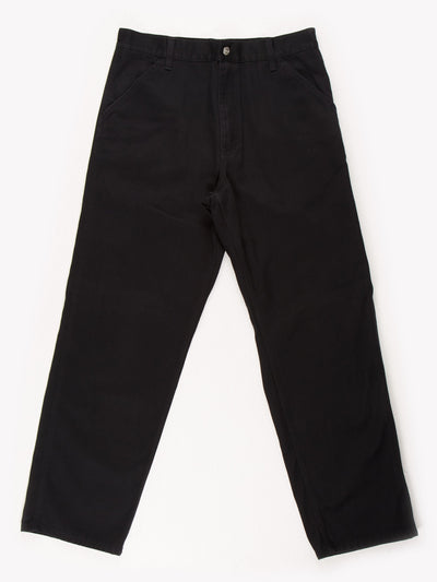 Carhartt Trousers Black Size 34x31