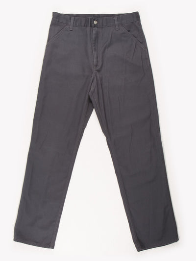 Carhartt Trousers Grey Size 34x32