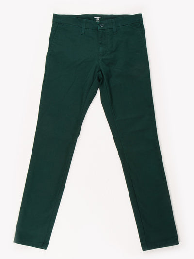 Carhartt Trousers Green Size 32x32