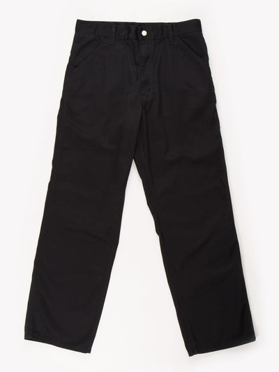 Carharttt Trousers Black Size 33x31