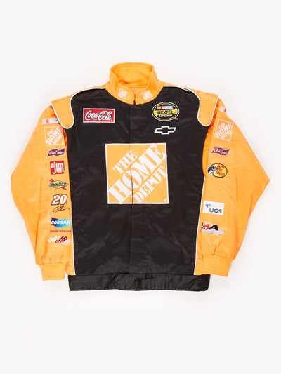 The Home Depot Nascar Racing Jacket Black / Orange Size XL