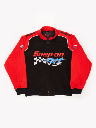 Snap-on racing Jacket Black / Red Size XL