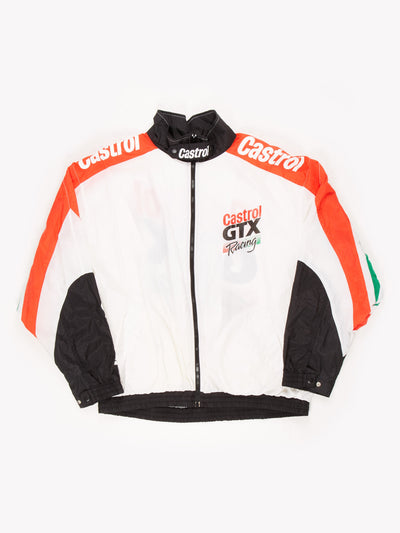 Castrol GTX Racing Windbreaker White / Red / Green / Black Size XXL